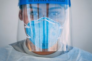 health worker face mask